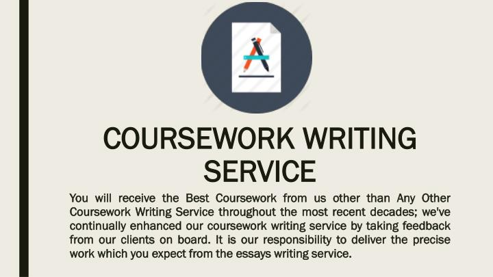 course work writing service Academized offers you a comprehensive coursework writing service at a low price our inexpensive service will help you get the best grades you can on your course overall.