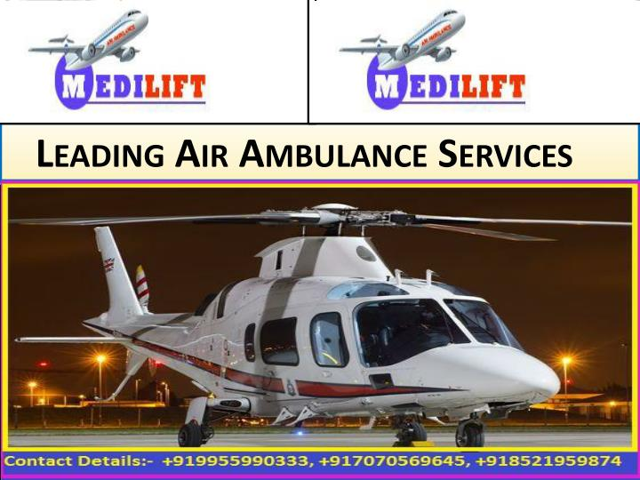 Leading air ambulance services