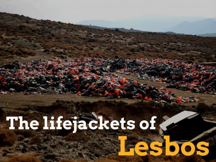 the lifejackets of lesbos n.