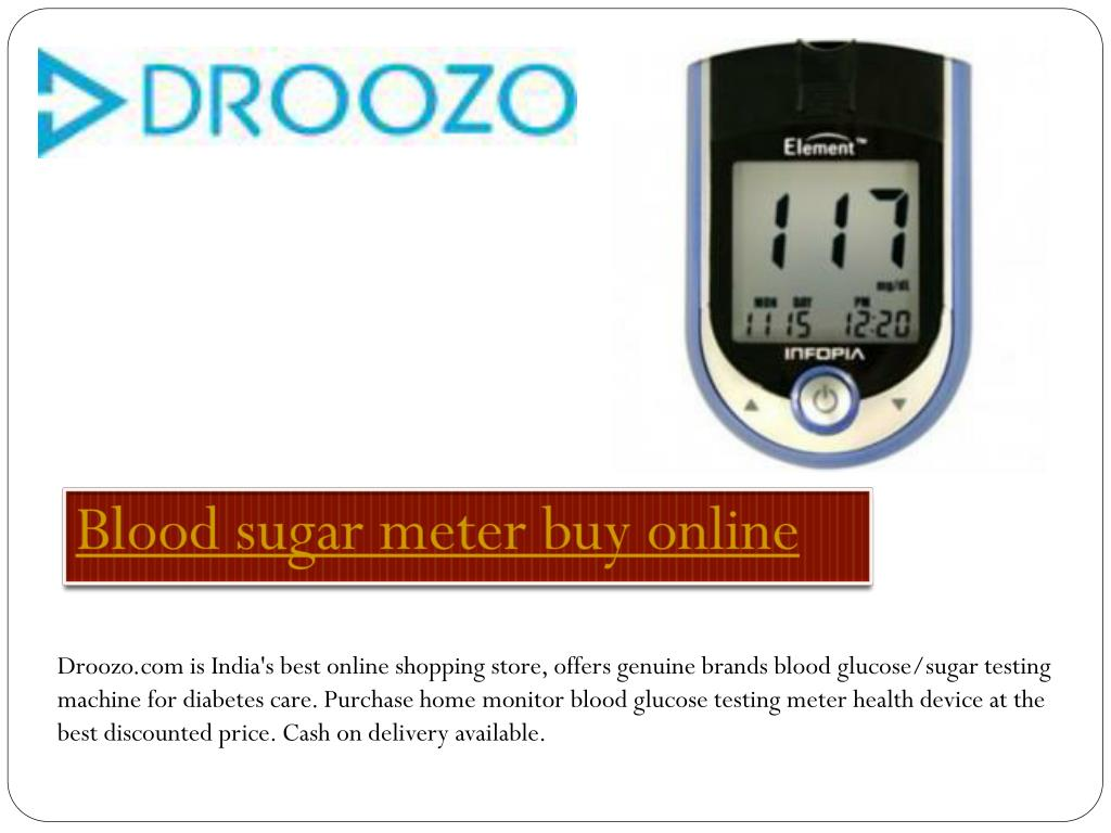 PPT - Blood Sugar Monitor Online PowerPoint Presentation