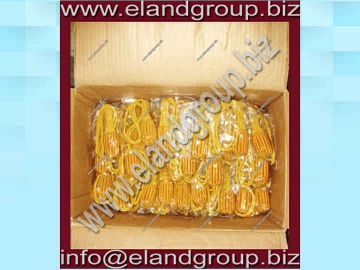 Bullion sword knot