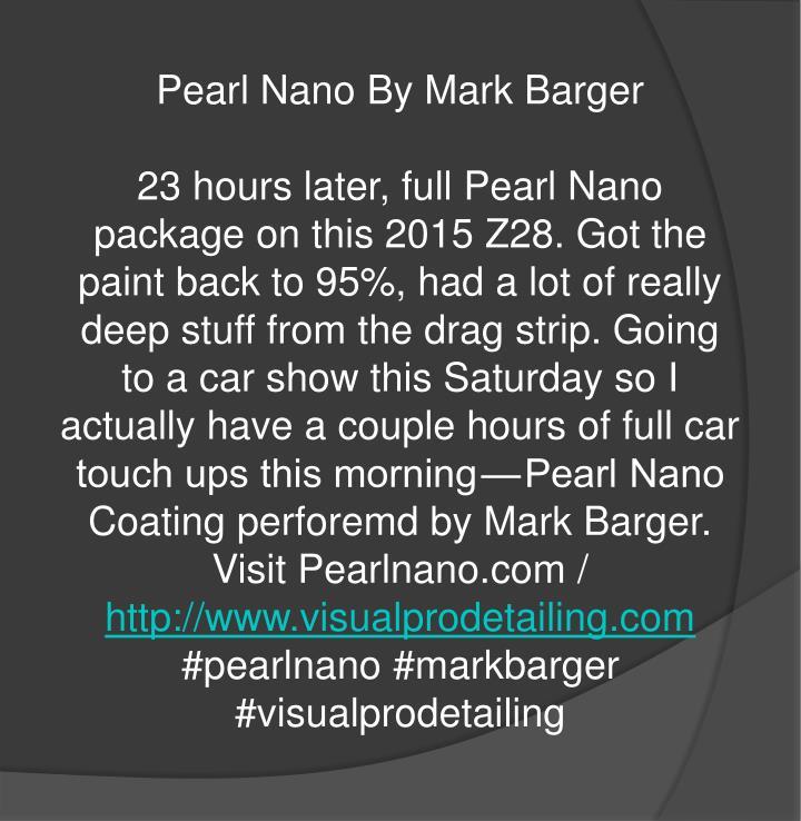 Pearl Nano By Mark Barger