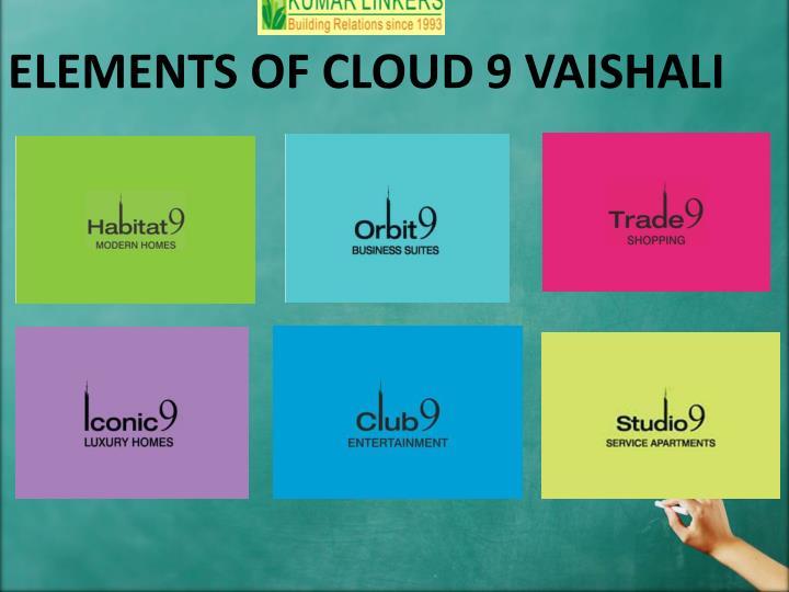 ELEMENTS OF CLOUD 9 VAISHALI