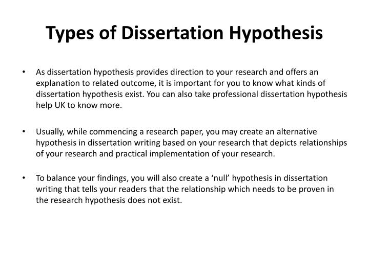 dissertation types research How to write a dissertation or ``type of'' vague & colloquial every dissertation must define the problem that motivated the research.
