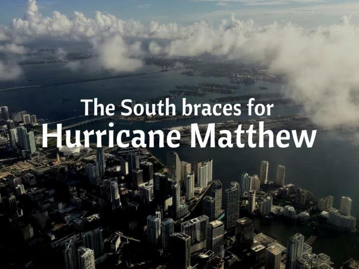 the south props for hurricane matthew n.