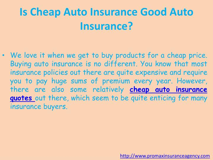 Ppt Auto Insurance Quotes California Powerpoint Presentation Id