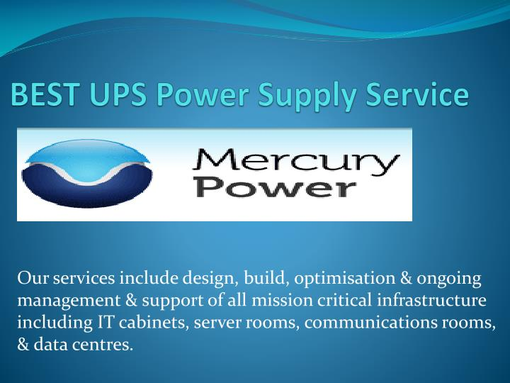 best ups power supply service n.