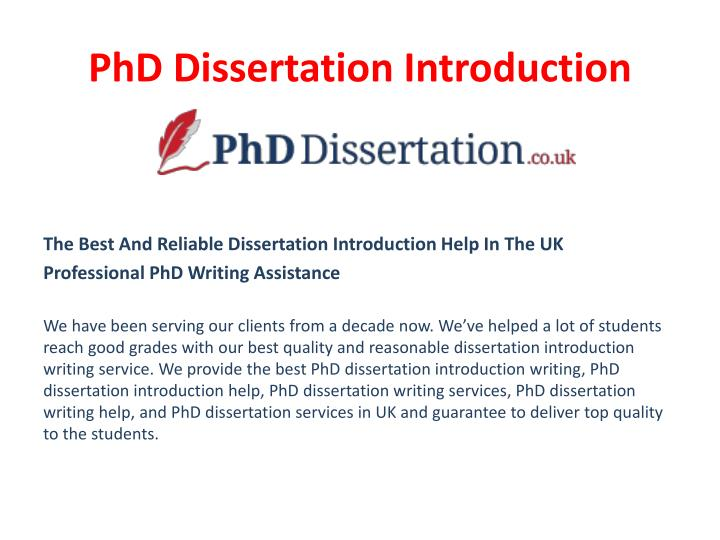 scientific dissertation introduction Dissertation introduction with your introduction you're preparing the ground for the main body of your dissertation in your introduction you're looking to inspire an interest in your work and explaining something about the background and your reasons for choosing your dissertation topic.