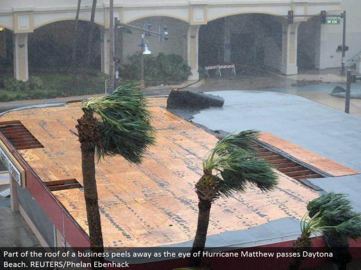 Ppt Hurricane Matthew Slams Florida Powerpoint