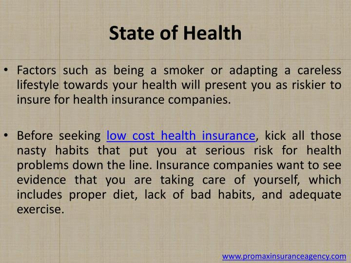 State of Health
