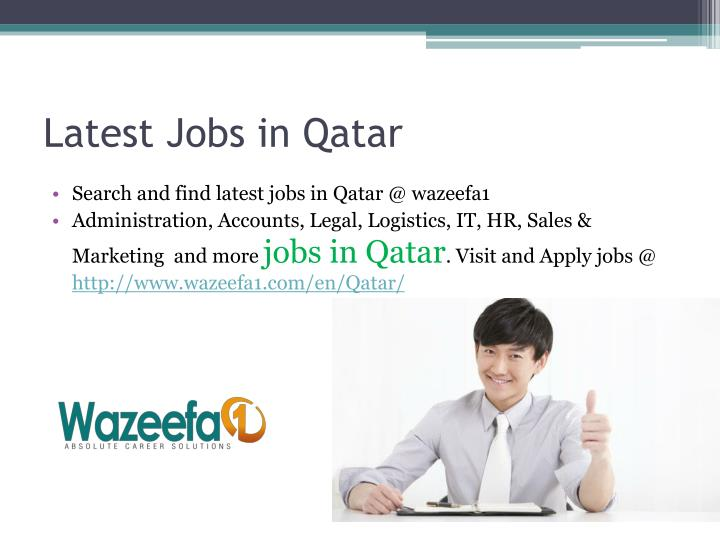Latest jobs in qatar