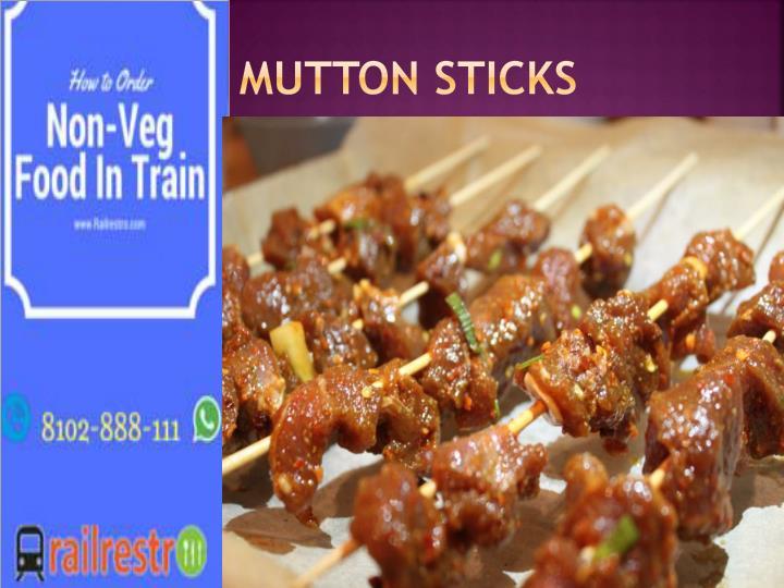 Mutton Sticks