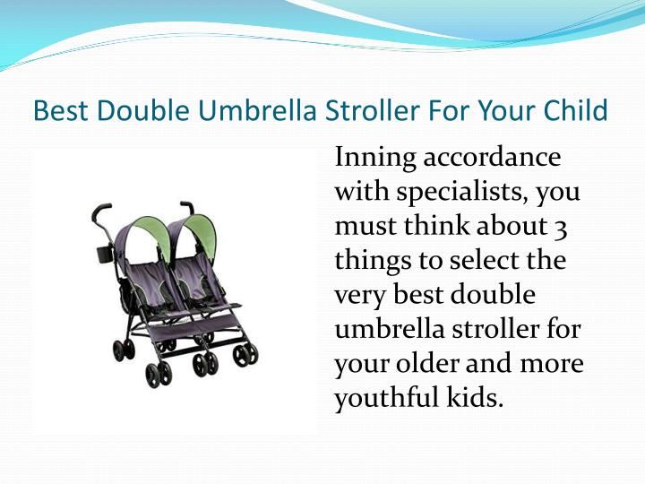 Best double umbrella stroller for your child1