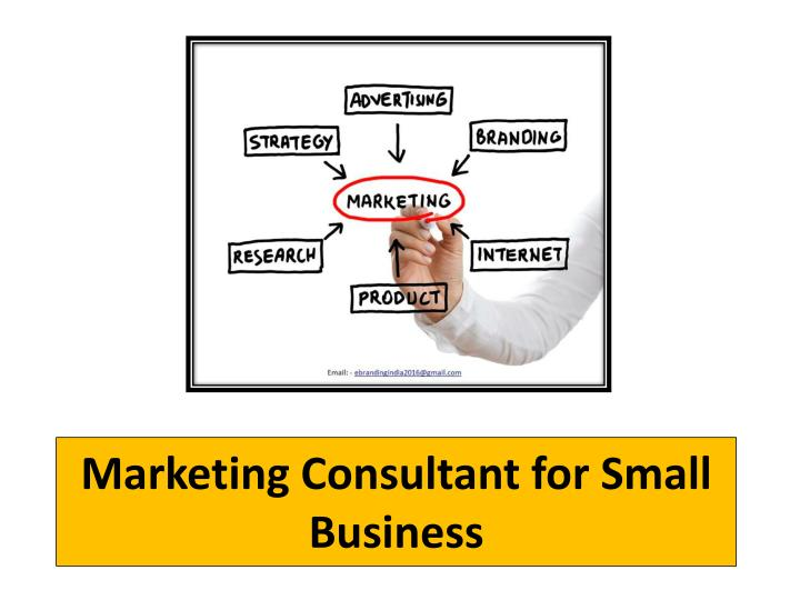 marketing consultant for small business