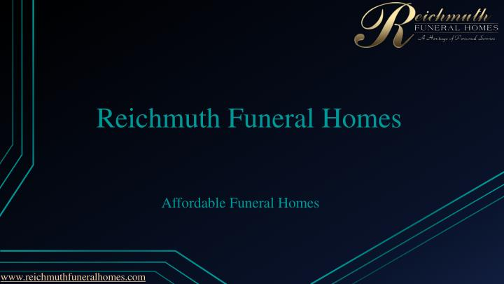 reichmuth funeral homes n.