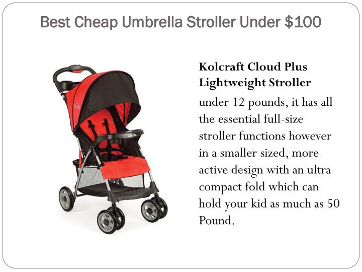 Best cheap umbrella stroller under 1002