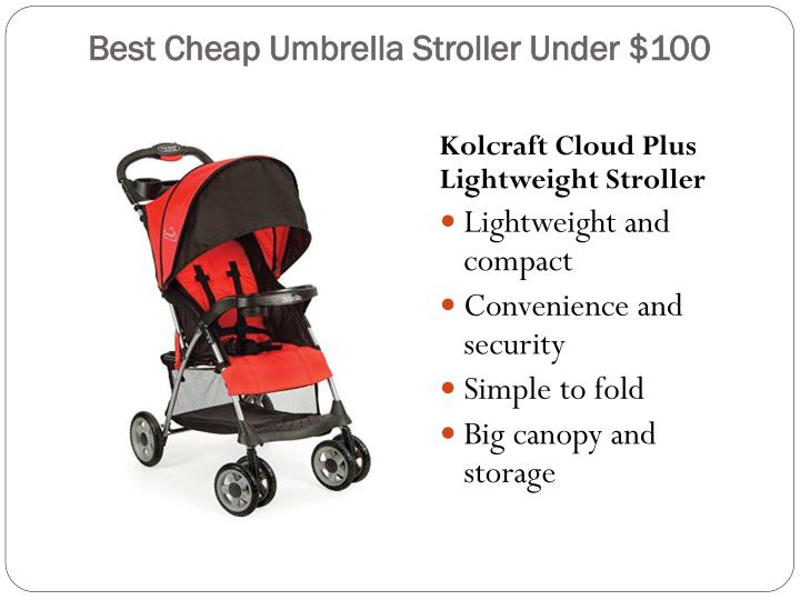 Best Cheap Umbrella Stroller Under $100