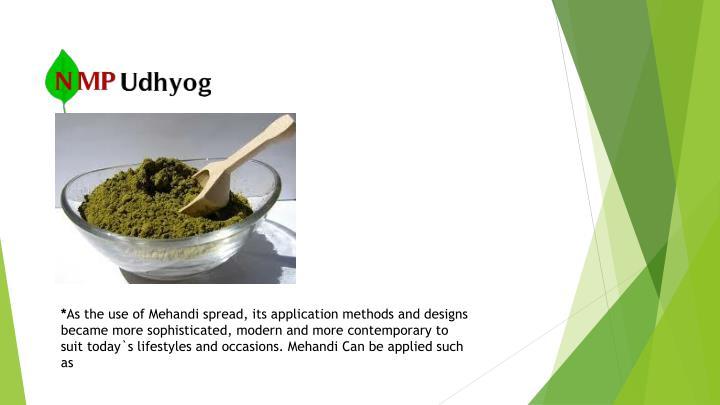 Henna powder manufacturers