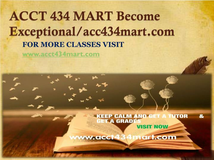 acct 434 mart become exceptional acc434mart com