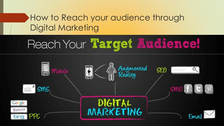How to Reach your audience through Digital Marketing