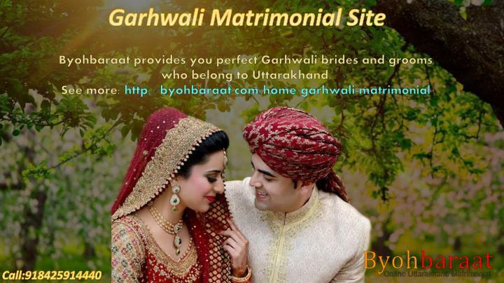 Garhwali Matrimonial Site
