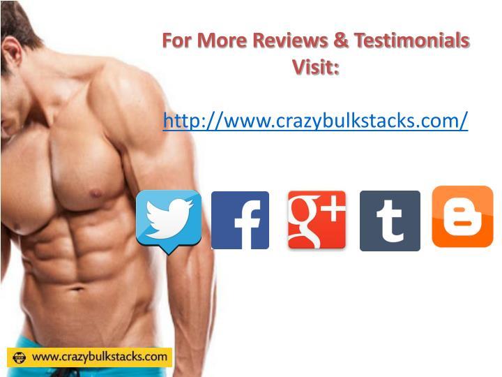 For More Reviews & Testimonials Visit: