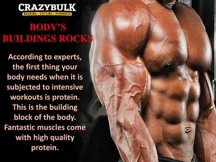 BODY'S BUILDINGS ROCKS