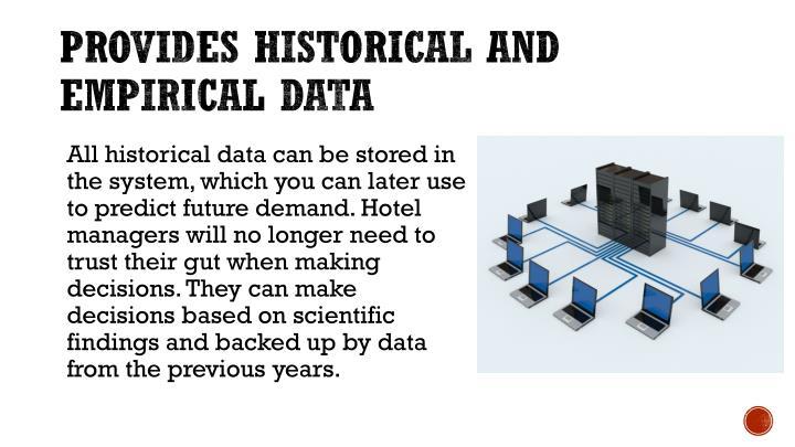 Provides historical and empirical data