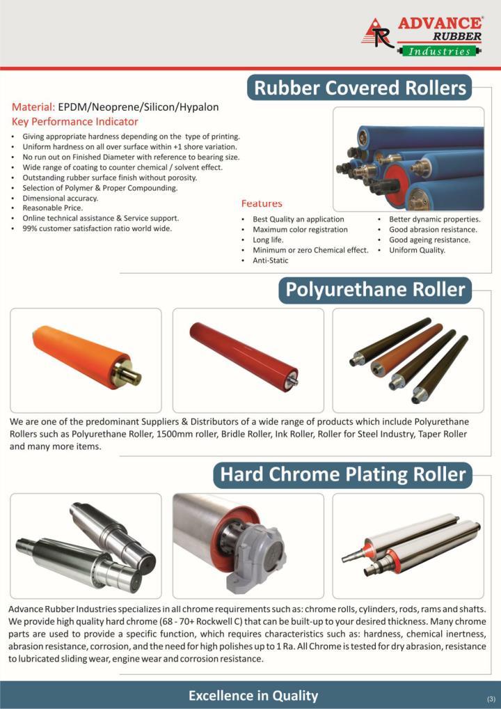 Embossing roller manufacturer banana rollers manufacturer