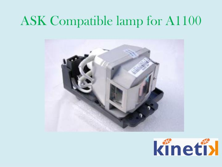 ASK Compatible lamp for