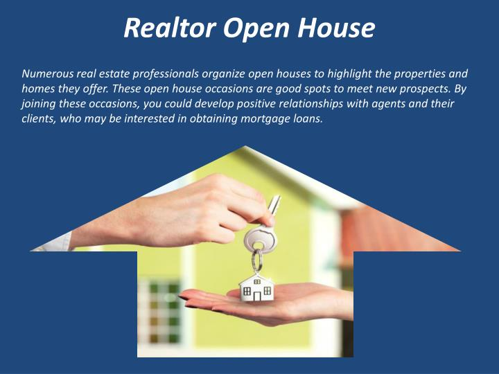 Realtor Open House
