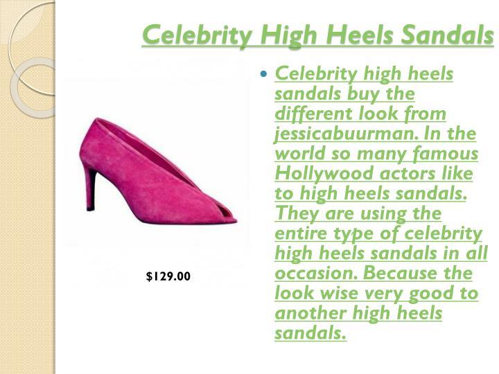 Celebrity High Heels Sandals