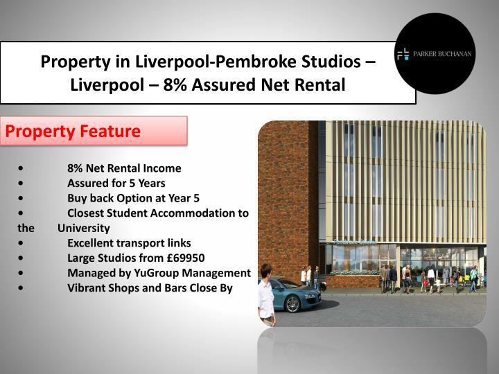 Property in Liverpool-Pembroke Studios –