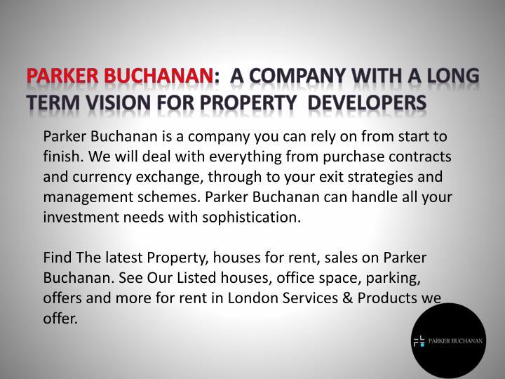 Parker Buchanan