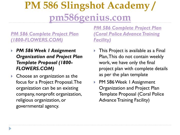 Pm 586 slingshot academy pm586genius com1