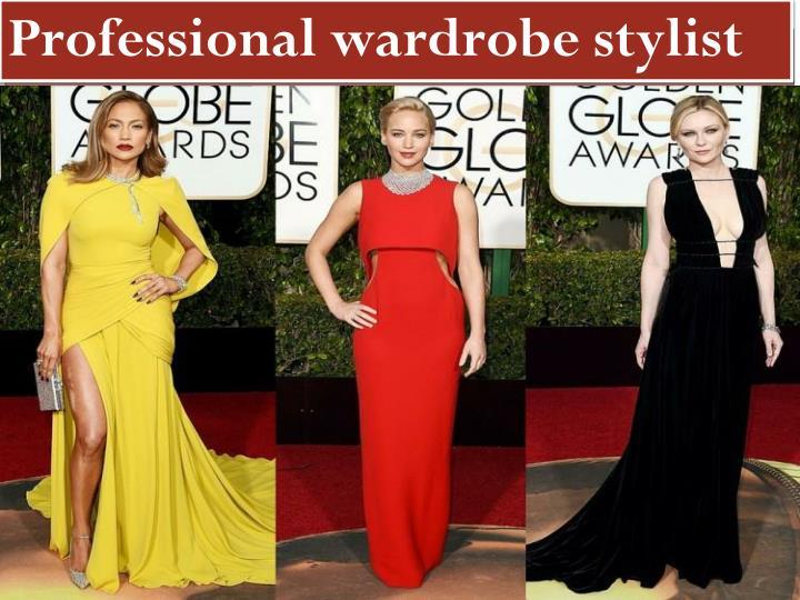 Professional wardrobe stylist