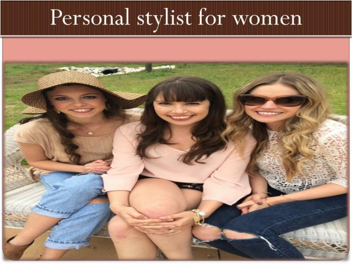 Personal stylist for women
