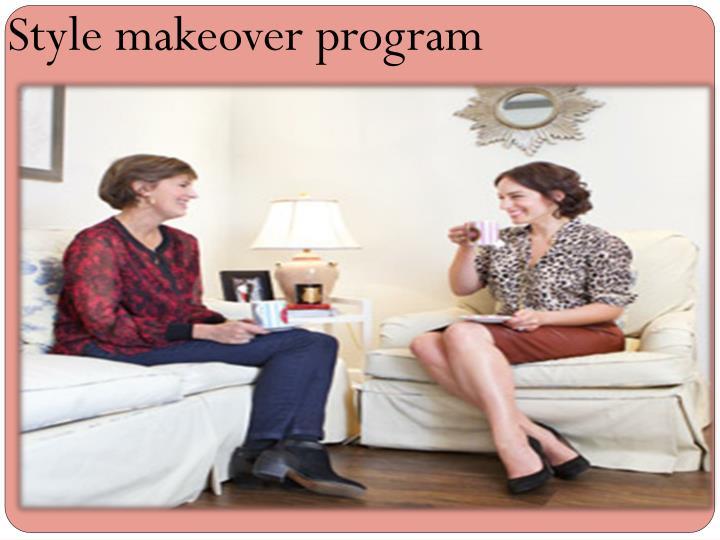 Style makeover program