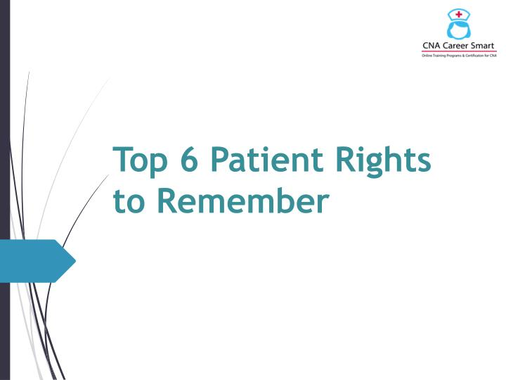 Top 6 patient rights to remember