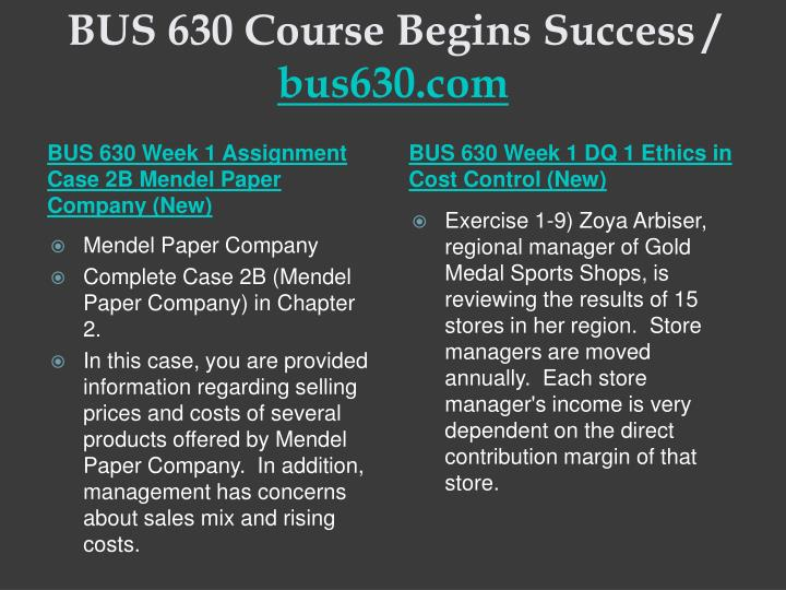 Bus 630 course begins success bus630 com2
