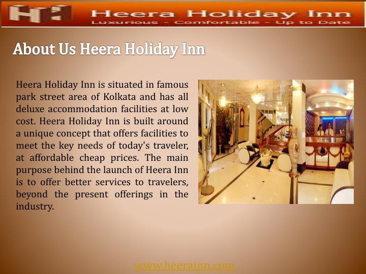 About Us Heera Holiday Inn
