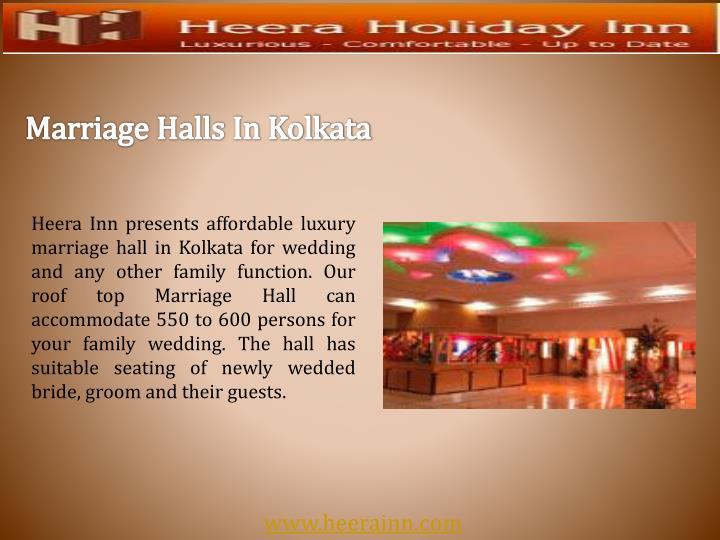 Marriage Halls In Kolkata