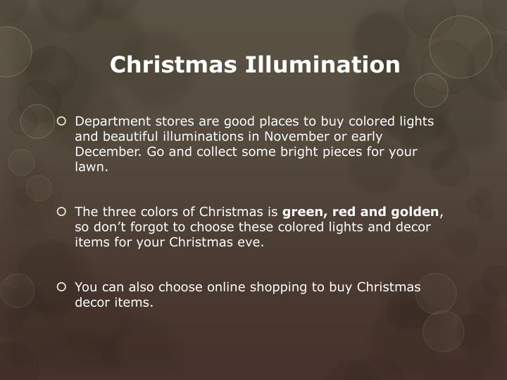 Christmas Illumination