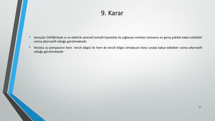 9. Karar