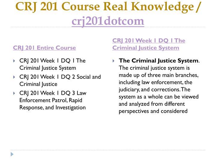 Crj 201 course real knowledge crj201dotcom1