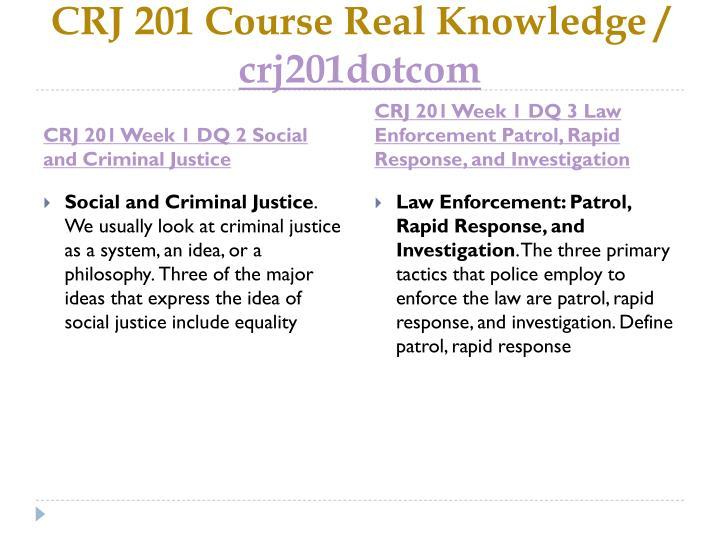 Crj 201 course real knowledge crj201dotcom2