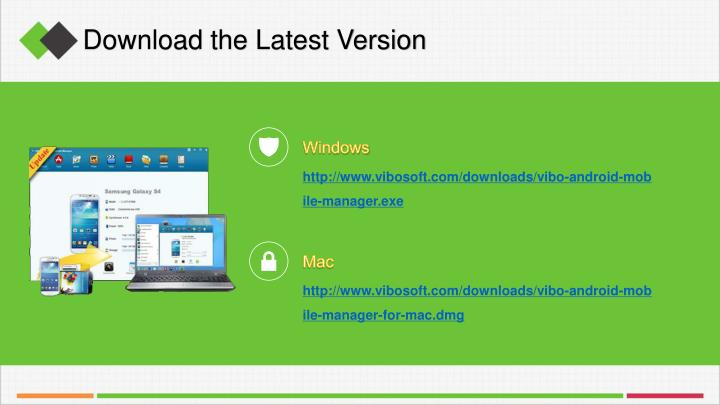 Download the Latest Version
