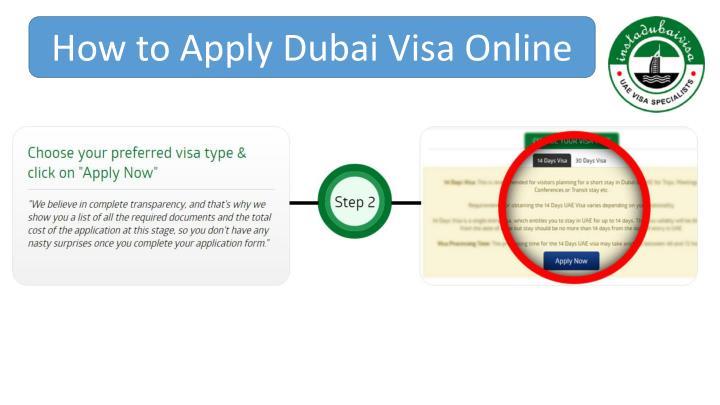 How to Apply Dubai Visa Online