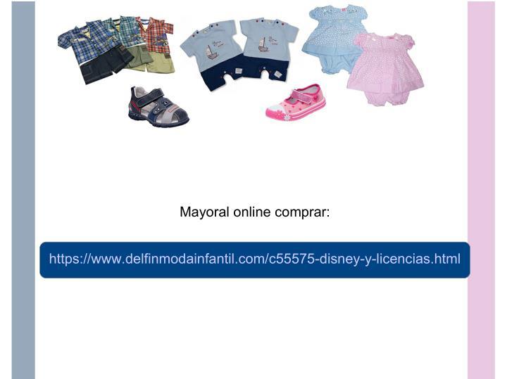 Mayoral online comprar: