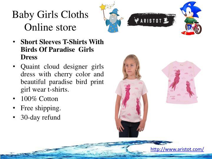 Baby girls cloths online store